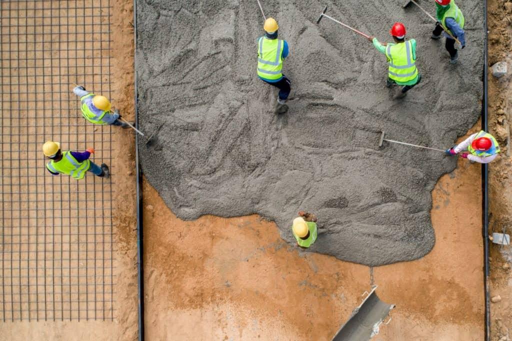 יציקת גג בטון